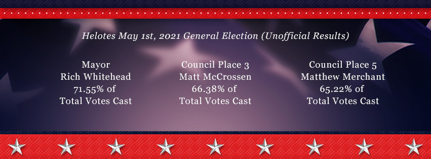 Election Results May 1st 2021 Web