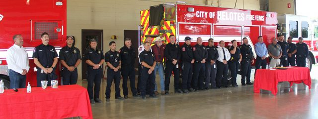 Helotes News 2021 09 10 Helotes 911 Ceremony Police Fire EMS Web